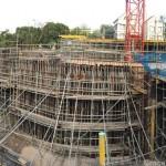 Along Jervois Lane progress status (Dec 2014)