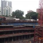 Zone 2 facing Jervois Lane (Aug 2014)