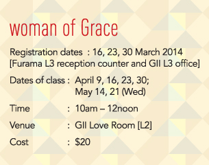 Woman of Grace 2014