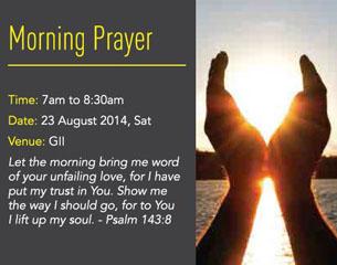 Morning Prayer @ GII