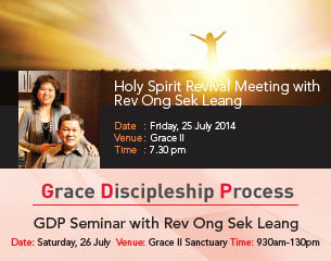 Holy Spirit Revival Meeting with Rev. Ong Sek Liang