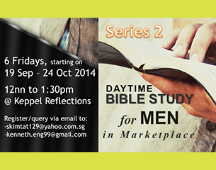Daytime Men Bible Study ~ Series 2