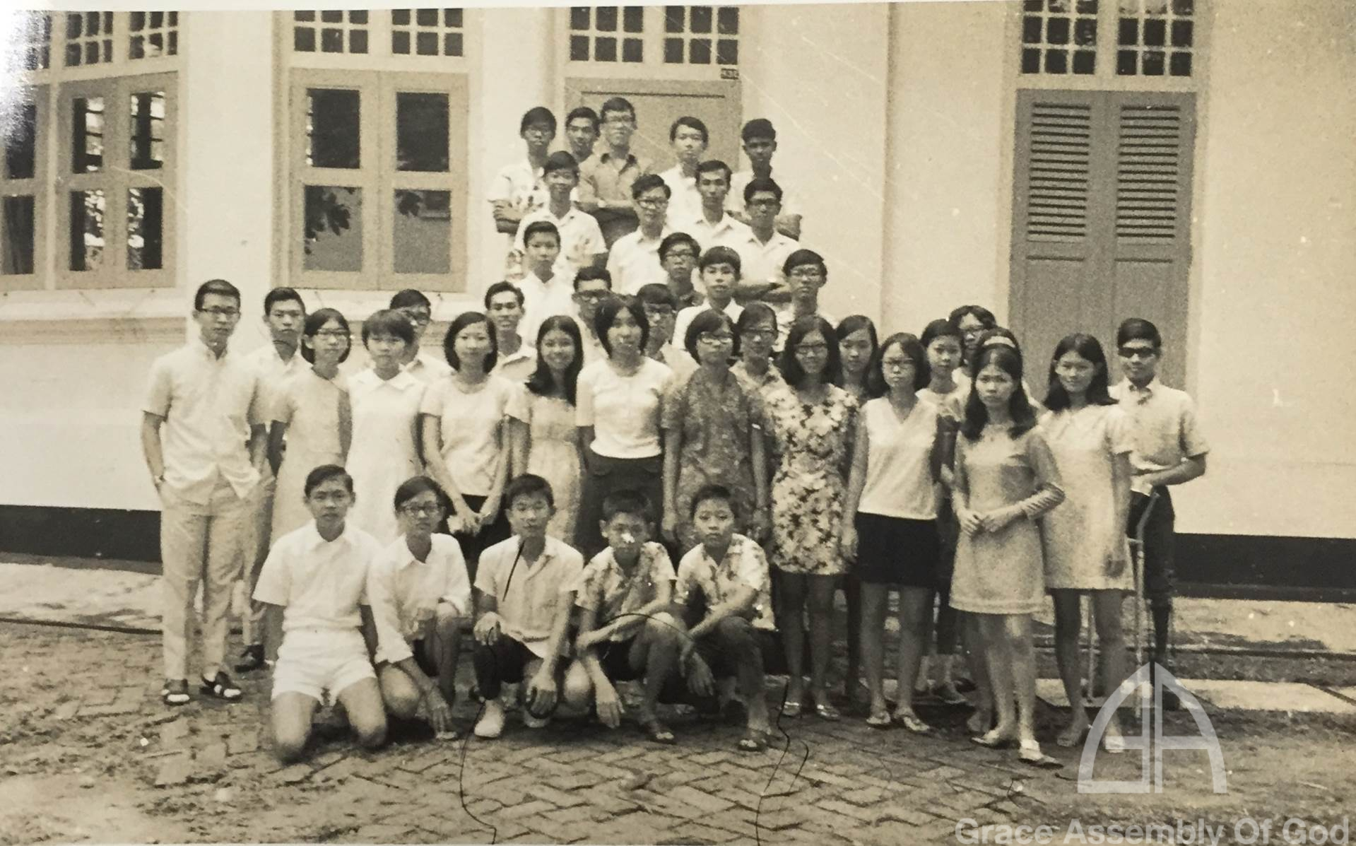 GRACE CA Camp @Bukit Panjang Government Bungalow 11 Nov 1971
