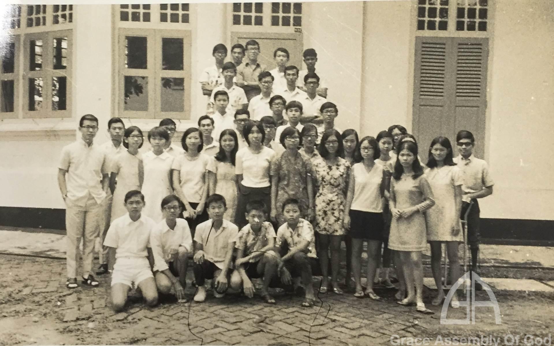 GRACE CA Camp @Bukit Panjang Government Bungalow 11 Nov 1971