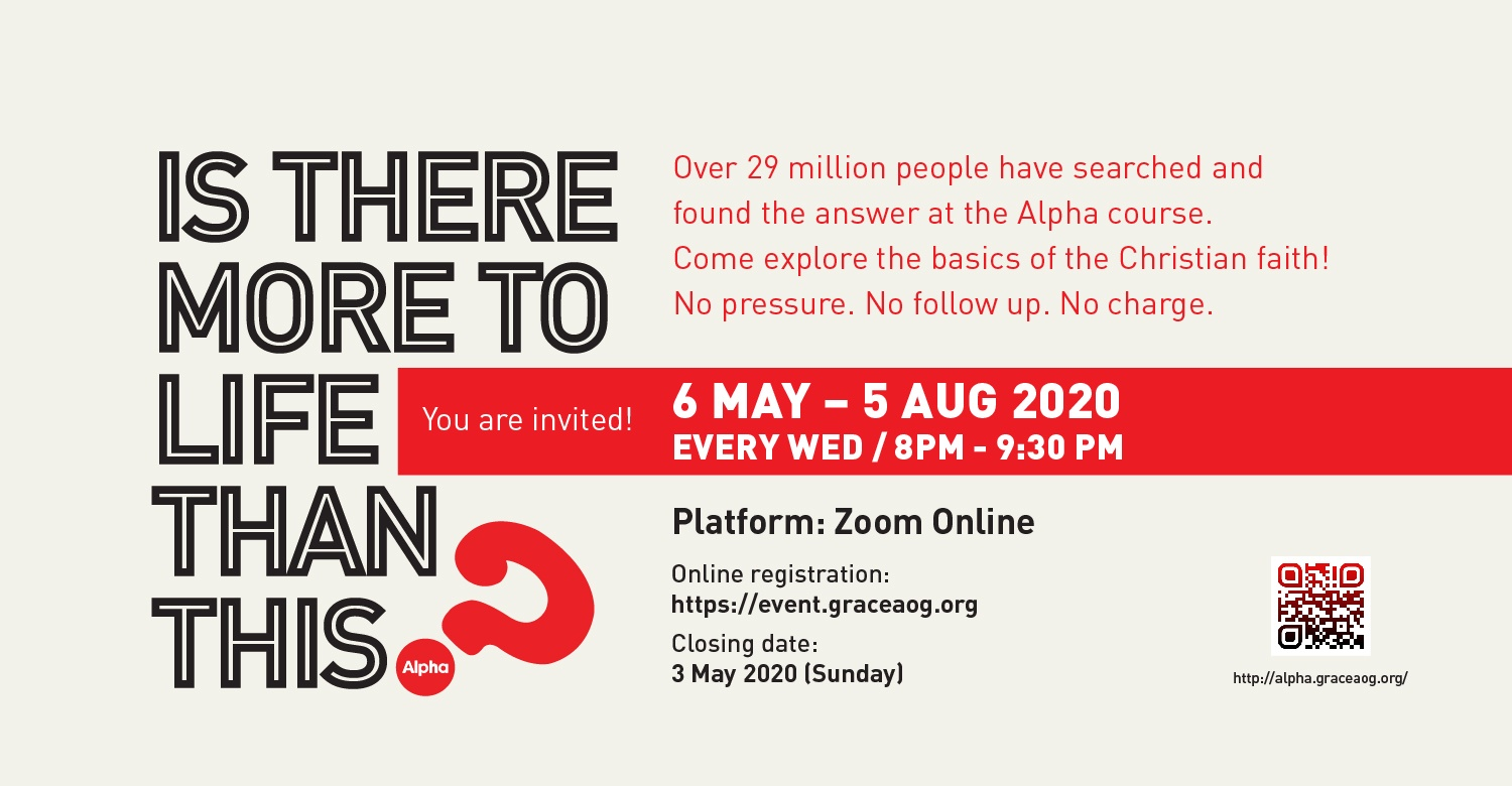 Alpha Course @ Zoom Online