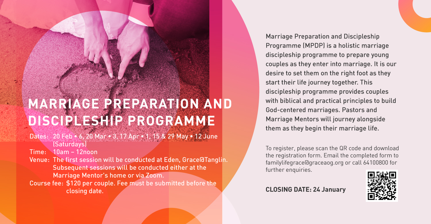 Marriage Preparation and Discipleship Programme
