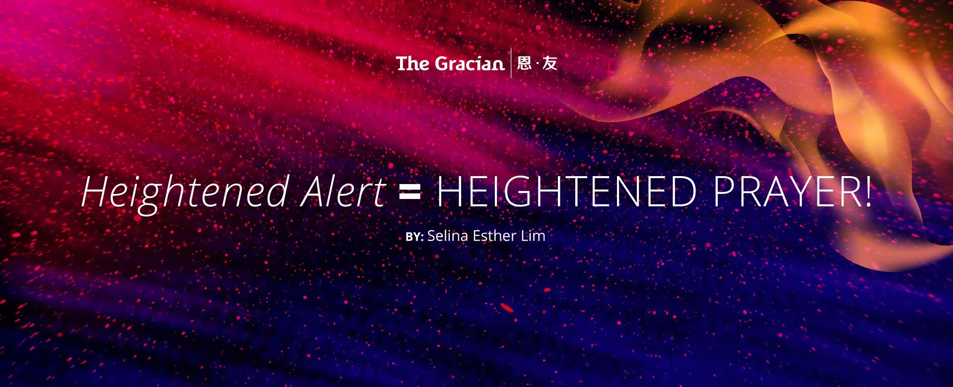 Heightened prayer, J333